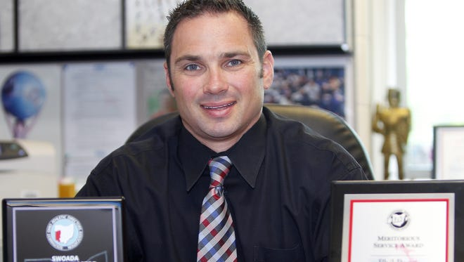 Kings High School athletic director Phil Poggi, selected earlier this year as Athletic Director of the Year, is looking forward to the school year.