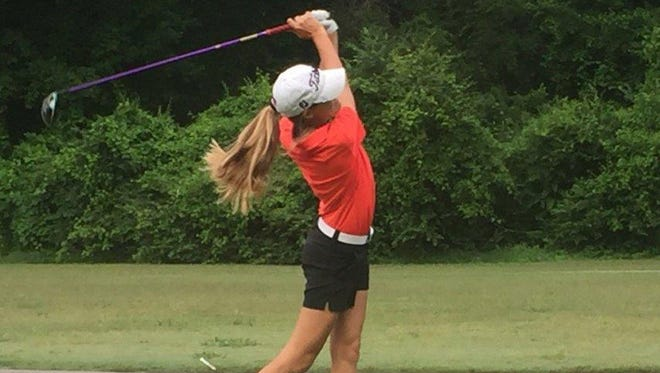 Defending Tennessean/Metro Parks Schooldays champion Ashley Gilliam finished as the medalist in Monday's qualifying round for this year's tournament at McCabe Course.