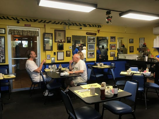The Cove Inn Coffee Shoppe located off Broad Avenue