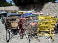Se enfocan fuerzas de la ley en carritos de compras robados