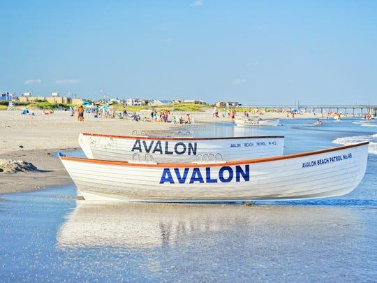 AVALON, NJ BEACH_AVALON LIFEGUARD BOATS_Cape May County, NJ Department of Tourism