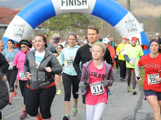 Hundreds of runners are expected at the annual Friends of the Lake 5K Road Race and Walk at Lake Junaluska in Haywood County.