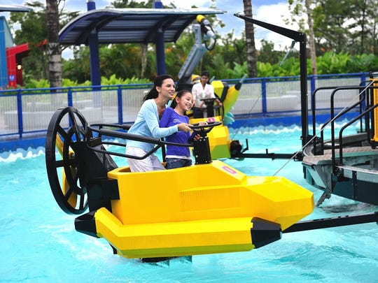 Aquazone, is one attraction, that is proposed at Legoland