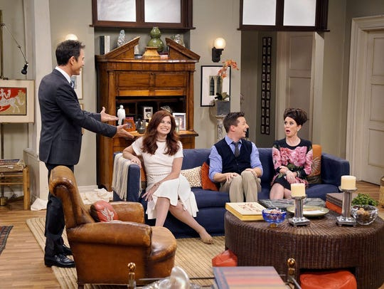 Not just Jack: The 'Will & Grace' gang's all here for