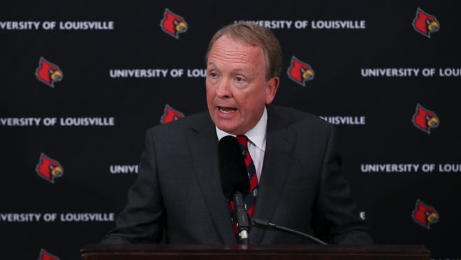 University of Louisville Interim President Greg Postel announced that athletic director Tom Jurich and men's basketball coach Rick Pitino have been placed on administrative leave from the school.  
