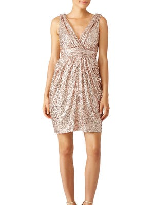 The Badgley Mischka Fifth Avenue Showstopper dress, $35 to $55 rental.