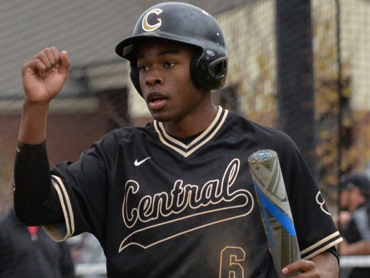 Central Magnet senior Jordan Jackson hit .362 with 18 doubles, seven triples, five home runs and 54 runs scored.