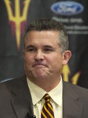 Former ASU head football coach Todd Graham