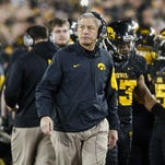 Kirk Ferentz (127-87 in 17 years at Iowa) is 16 wins from tying Hayden Fry as the Hawkeyes' winningest all-time coach.