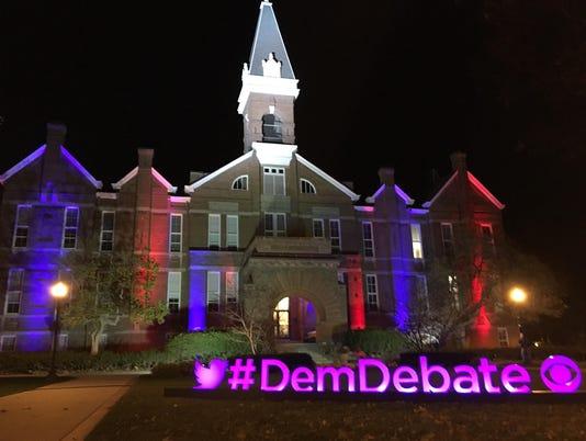#DemDebate