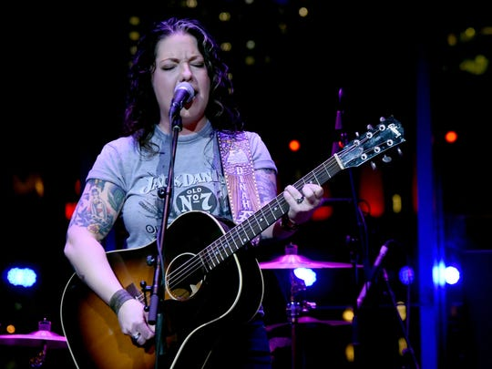 """Singer-songwriter Ashley McBryde's album """"Girl Going Nowhere"""" is out Friday."""