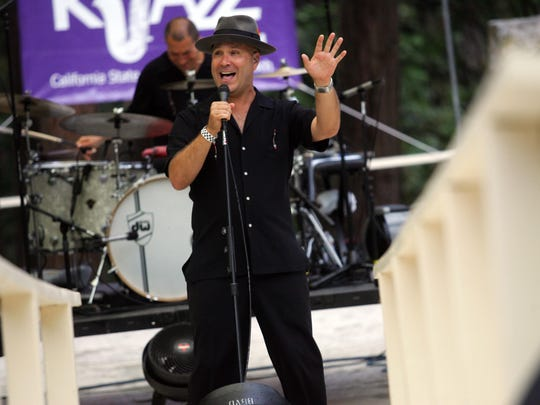 Scotty Morris of Big Bad Voodoo Daddy performs at several Jazz in the Pines festivals.