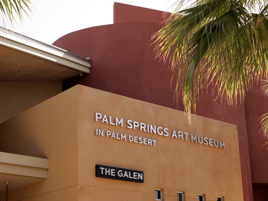 The Palm Springs Art Museum in Palm Desert is located at the corner of El Paseo and Highway 111 at 72-567 Highway 111 in Palm Desert. The building features exhibit space and an outdoor sculpture garden displayed along with the city's Eric Johnson Memorial Gardens