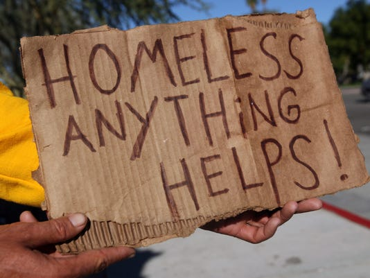 some ideas to help the homeless in palm springs