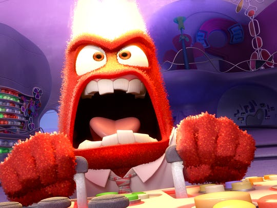 "Lewis Black is the voice of  Anger in the popular Disney-Pixar film ""Inside Out."""