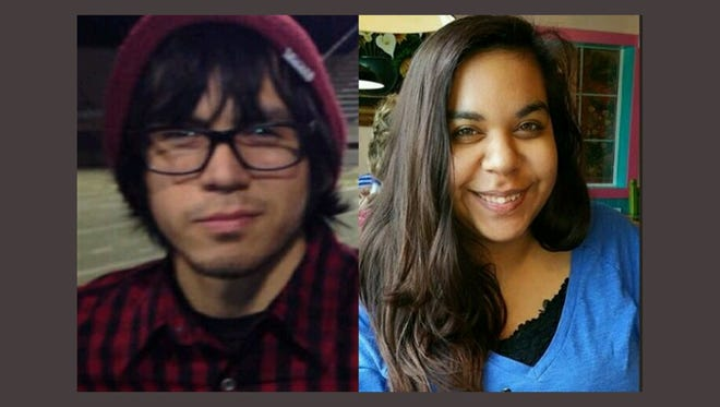 Alexander Trejo and Gabrielle Estelle were killed in a wreck after a Christmas light outing with family.