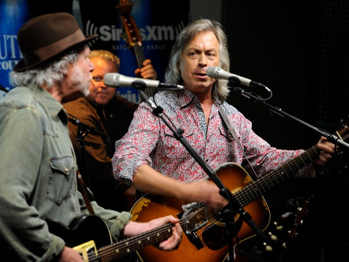 Buddy Miller and Jim Lauderdale perform at the 2014 Americana Honors & Awards nomination ceremony Monday May 12, 2014, in Nashville, Tenn.