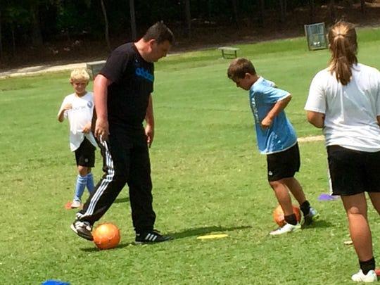 The Matrix Soccer Academy's Charlie Jackson walks through