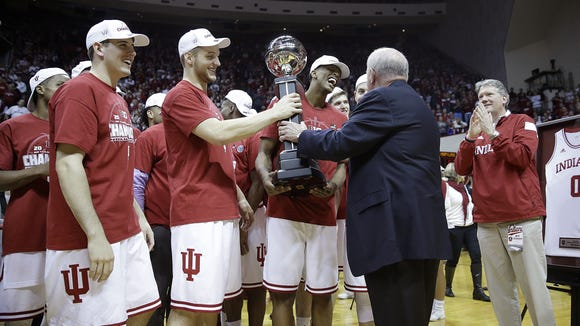 IU celebrated a Big Ten title last year. How does 2016's