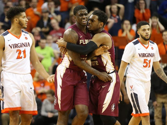 NCAA Basketball: Florida State at Virginia