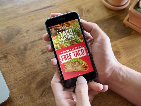Download Jimboy's Taco Nation app for a free taco, cut-the-line privileges and award points to redeem.