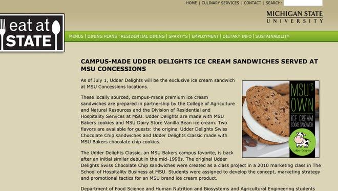 MSU's Udder Delights