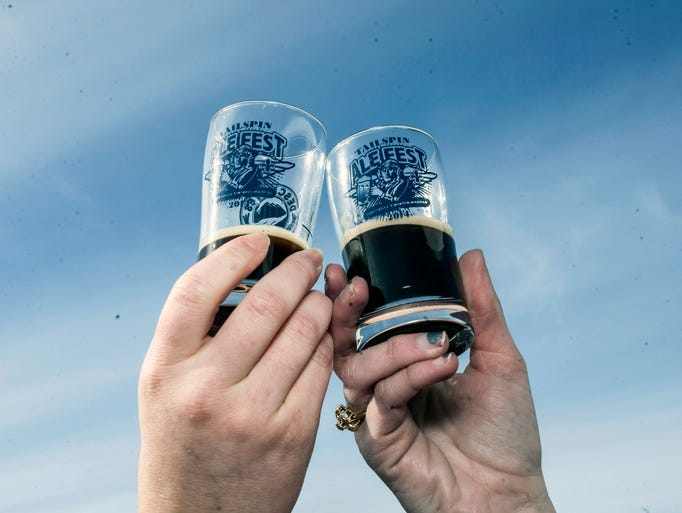 The inaugural Tailspin Ale Fest featured more than 150 craft beers in a revived WWII era airplane hangar at Bowman Field on Saturday afternoon. Proof yet again that the American Craft Beer movement is alive and well in Kentucky.