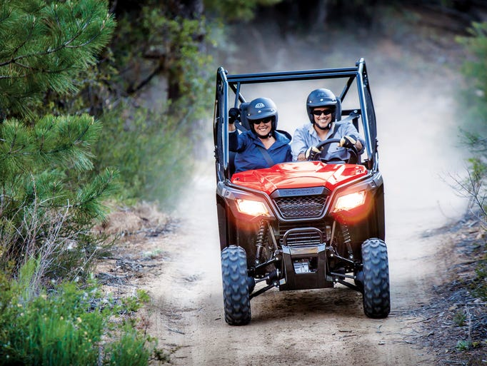 Honda announces a new, narrower side-by-side ATV, the Pioneer 500.