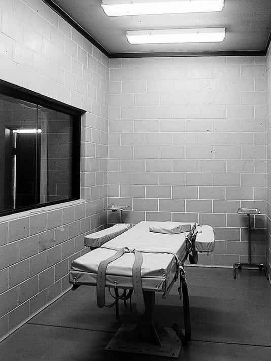 Arizona lethal-injection chamber