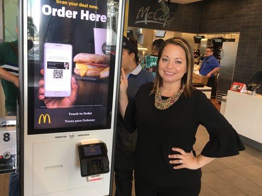Deana Homsi, who owns five McDonald's franchises, next