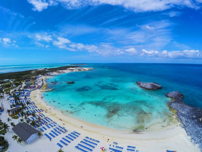 Great Stirrup Cay, Norwegian Cruise Line's private