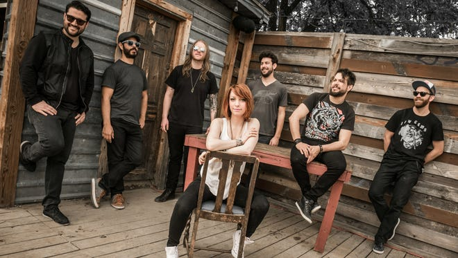 Sister Sparrow & the Dirty Birds perform Saturday night at the Vermont Music Festival in Waitsfield.