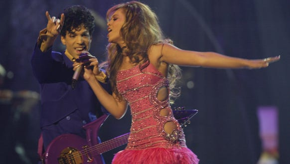 Queen B and Prince made for Grammys royalty.