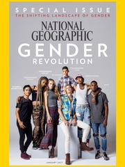 The January 2017 cover of National Geographic that