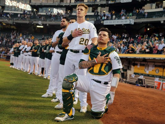 USP MLB: SEATTLE MARINERS AT OAKLAND ATHLETICS S BBA OAK SEA USA CA