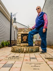 """Eladio """"Chico"""" Ramirez is a George Award winner for helping create a courtyard that will raise money for the renovation of the Athens Area Historical Society museum."""