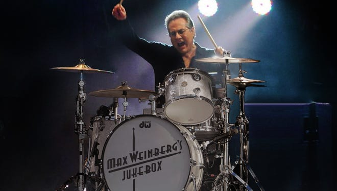 Max Weinberg, longtime drummer for the E Street Band, will bring his Jukebox show to the Newton Theatre tomorrow night.  Backed by Glen Burtnik & the Weeklings, Weinberg will perform selections picked by the audience from a list of 400 songs dating back to the earliest days of rock 'n' roll.