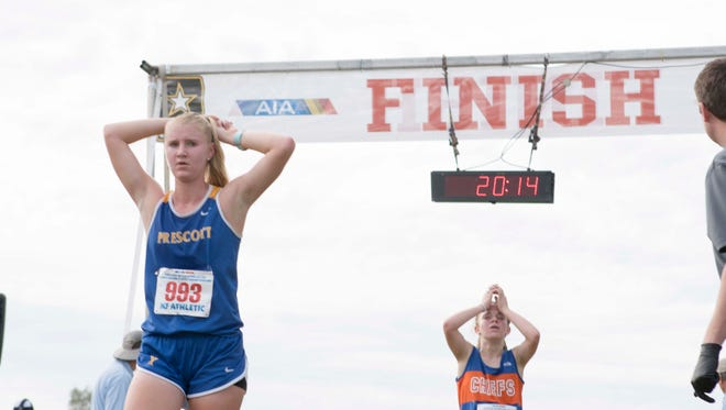 These are the eight nominees for Arizona High School Girls Cross Country Runner of the Year 2017.