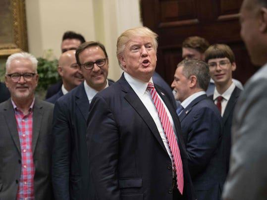 US-politics-TRUMP-CHICAGO CUBS