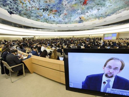 Switzerland UN Human Rights