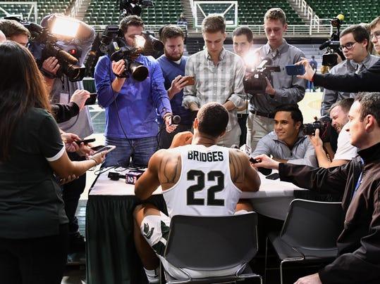 msu basketball media day 1
