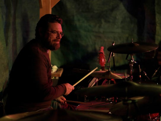 Shawn Owens drums with Nic Chamberlain's band Friday