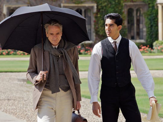 """Jeremy Irons, left, and Dev Patel star in """"The Man"""