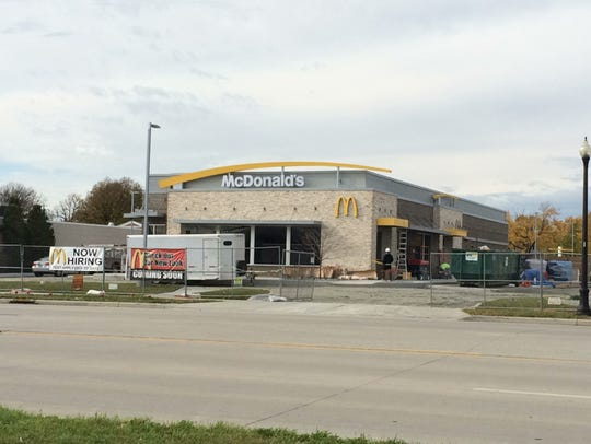 The new McDonald's in the 2400 block of South Oneida