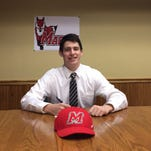 Grant Dixon from Roxbury College has signed to play football at Marist College
