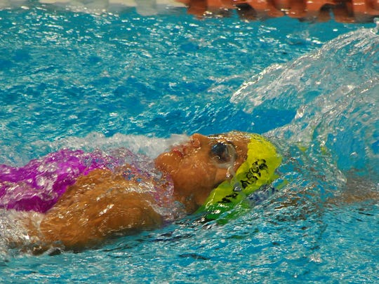 El Paso's Miriam Guevara will compete this week in Indianapolis for Mexico in the FINA World Junior Swimming Championships.