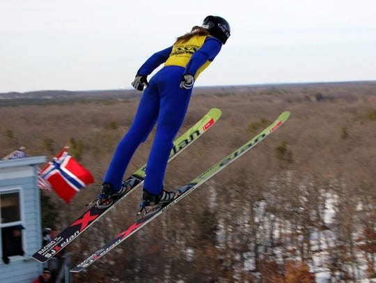 Ski jumper Nita Englund of Florence will be competing in her first Winter Games.