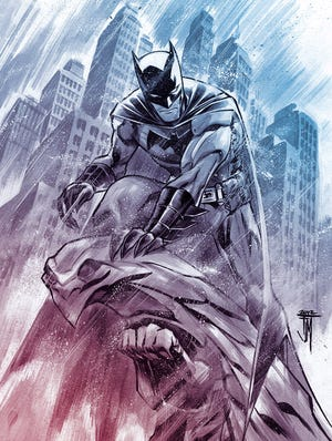 Francis Manapul and Brian Buccellato are leaning on Batman's investigative side when they take over the creative reins of 'Detective Comics' in 2014.