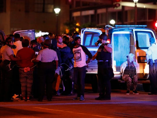 AP POLICE SHOOTING ST LOUIS A USA MO