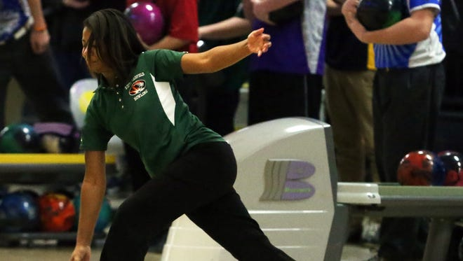 South Plainfield's Lanasia Neal is the Courier News/Home News Tribune Girls Bowler of the Year.